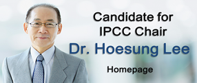 Candidate for IPCC Chair Dr.Hoesung Lee