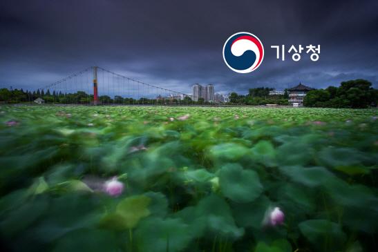 태풍이 만들어준 사진