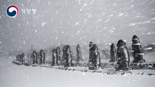 돌하르방의 겨울나기