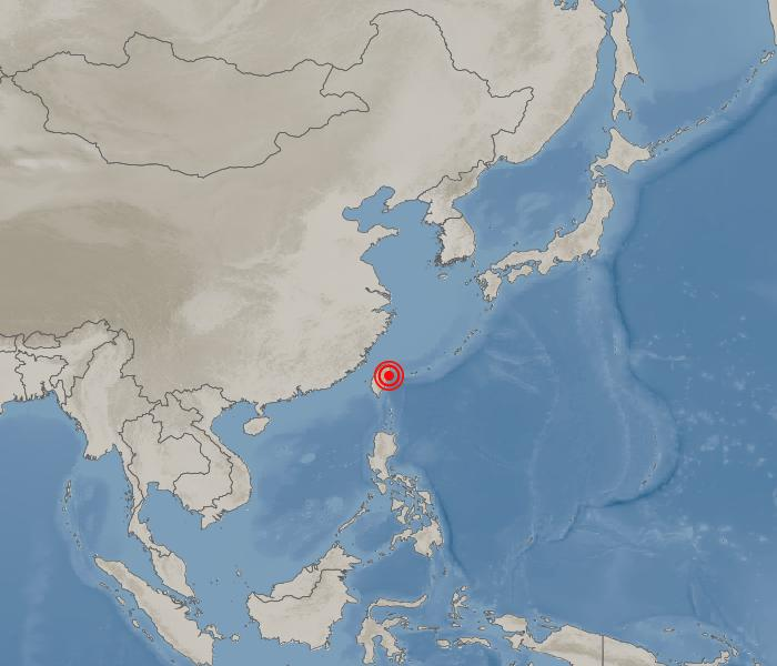 Image of earthquake information